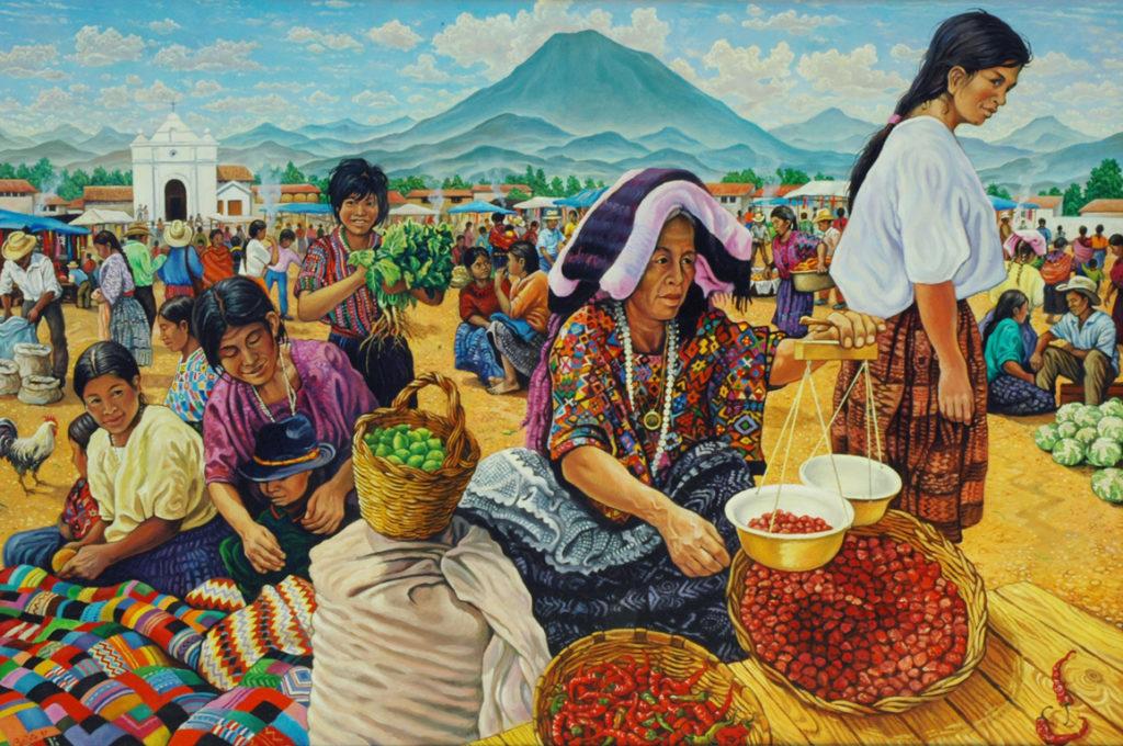 Mercato in Guatemala